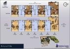 Floor plan Villas