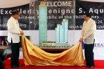 Grand Hyatt Unvieling with Pres. Benigno Aquino