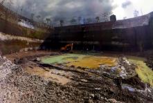 Construction photos of Park West at Grand Hyatt Fort Bonifacio