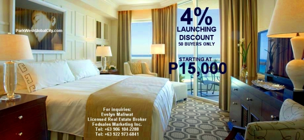 Central Park West Launching Discount